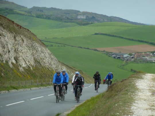 Cycling up Compton Down