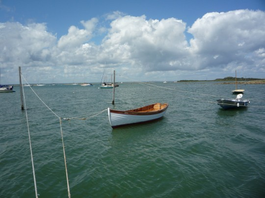 Boats in Newtown Harbour