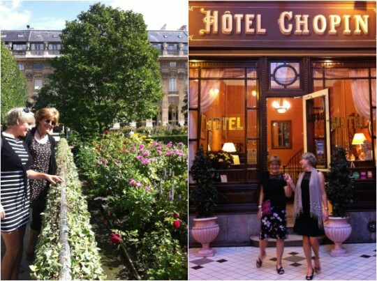 Photo collage of Hotel Chopin