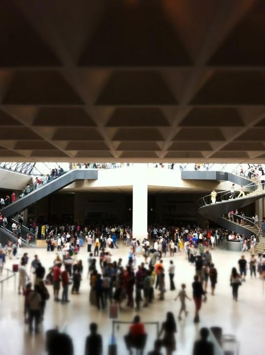 Busy terminal