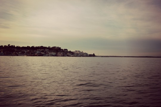 View of Cowes old town from East Cowes