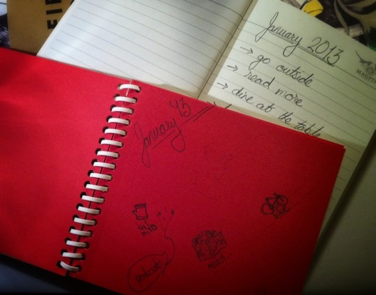 Month Notebooks