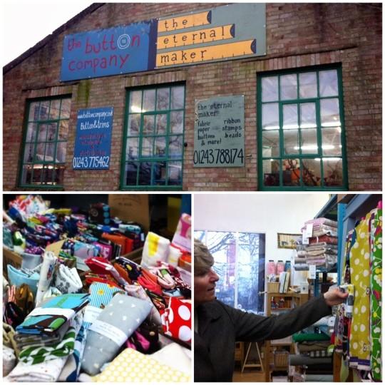 The Button Company photo collage