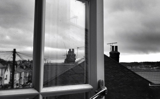 View from a window, Cowes  Isle of Wight