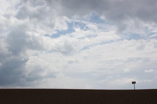 Chesil beach landscape