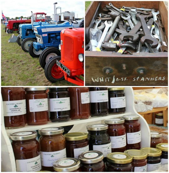 Jam jars, spanners, and tractors at the county show