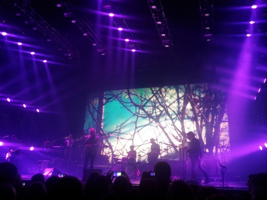 The National playing live at Belfast Odyssey Arena Nov 2013