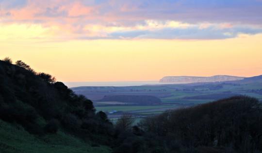 View to Tennyson