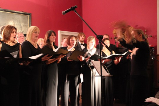Camerate singing at Wolverton Manor November 2013