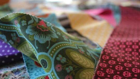 Fabrics close-up
