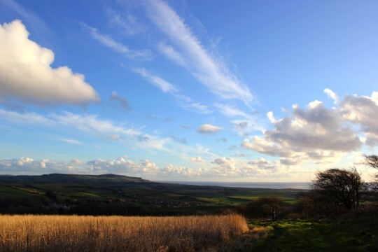 Landscape view of Shorwell, Isle of Wight