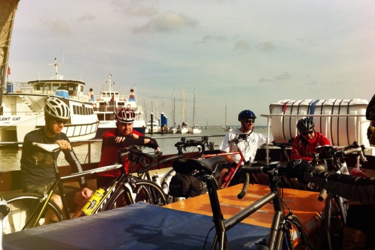 Bikes on the Cowes launch
