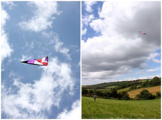 Kites photo collage