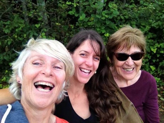 Selfie of Wendy, Rusty and Marlene