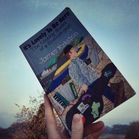 James Yorkston tour diaries book being held up