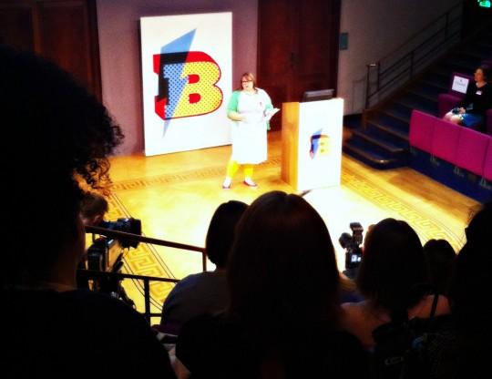 Kate Molesworth speaks at Blogtacular 2014