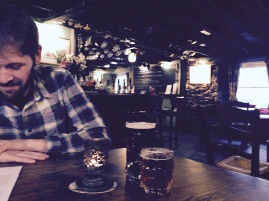 Tom at the pub